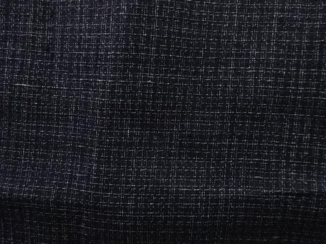 Kimono Kanoko Karo - Baumwolle antik schwarz 5