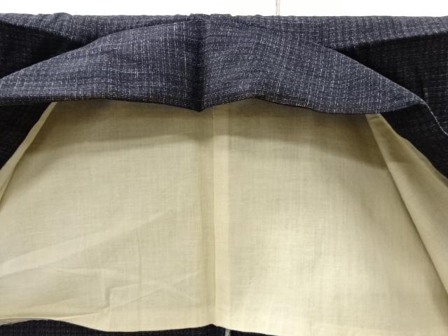 Kimono Kanoko Karo - Baumwolle antik schwarz 8