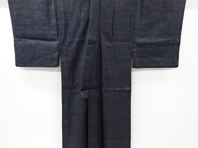 Kimono Kanoko Karo - Baumwolle antik schwarz 1