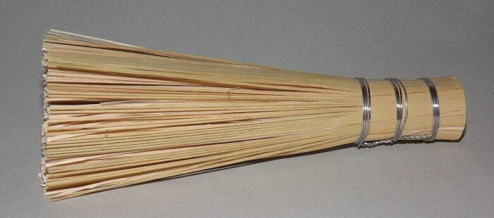 Sasara - Bambusbesen für Reiben + Mörser 1
