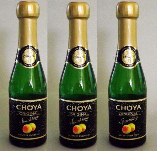Sparkling Ume 200ml 5.5% Original Choya - Restaurantgröße = 12 Flaschen 3