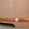 Sushi Edobitsu Sugi mit Kupferreifen 27cm High Quality 5