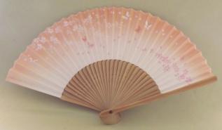 Sensu Sakura shiro-pinku 21cm 6
