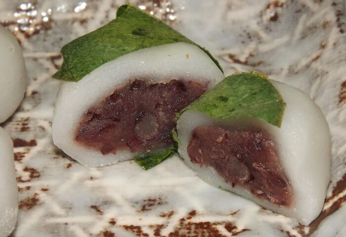 MINI Kashiwa Mochi 5 x 20g Kitakyu - Probier-Päckchen 1