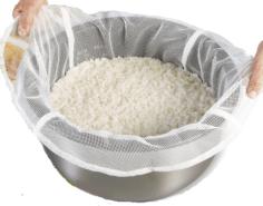 Reis-Koch-Netz 110 cm x 110 cm - Profiqualität 8