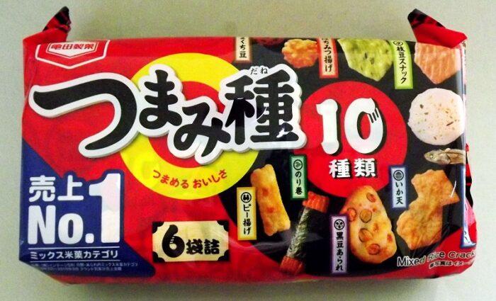 Senbei Mix Kakinotane Kameda 200g = 6 Portionsbeutel 1