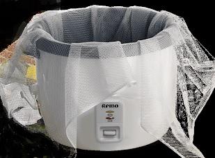 Reis-Koch-Netz 110 cm x 110 cm 4