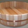 HON SUGI Hangiri 39 cm - japanisches Zedernholz mit Kupferreifen - exklusiv für uns gefertigt ! 2