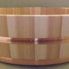 HON SUGI Hangiri 39 cm - japanisches Zedernholz mit Kupferreifen - exklusiv für uns gefertigt ! 3