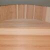 HON SUGI Hangiri 39 cm - japanisches Zedernholz mit Kupferreifen - exklusiv für uns gefertigt ! 5