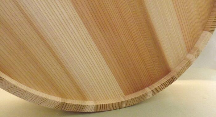 HON SUGI Hangiri 39cm - japanisches Zedernholz mit Kupferreifen - exklusiv für uns gefertigt ! 5