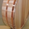 HON SUGI Hangiri 39 cm - japanisches Zedernholz mit Kupferreifen - exklusiv für uns gefertigt ! 7