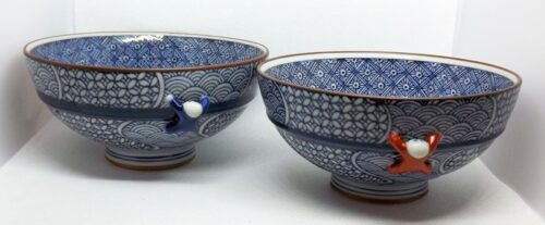 Kiyomizu Bowls 1 Paar Arita 12