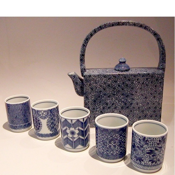 Set für Gyokuro/Kabuse und andere Edel-Tees 6 tlg. 1