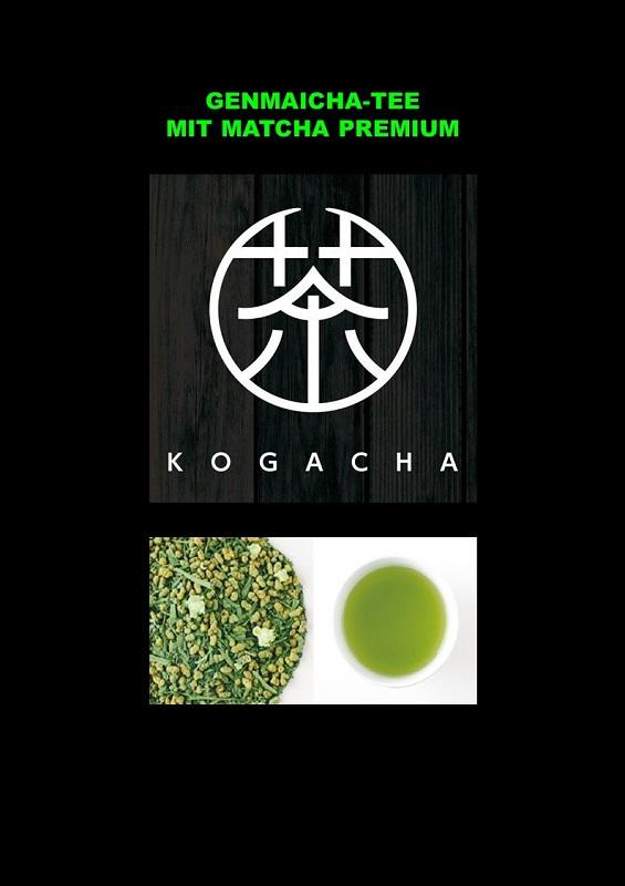 Kumamoto Genmaicha mit Matcha Premium 50g 1