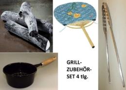 Grill-Zubehör-Set Nonfood 4-tlg. 8