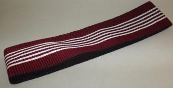Kaku-Obi schwarz-rot mit weiß 9