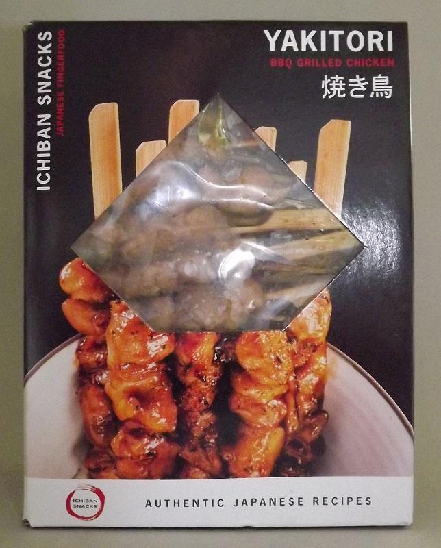 Yakitori 40 Spieße à 25g = 1 kg ICHIBAN - Hühnchenfleisch gegrillt, in Teriyakisauce 1