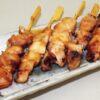 Yakitori 40 Spieße à 25g = 1 kg ICHIBAN - Hühnchenfleisch gegrillt, in Teriyakisauce 3