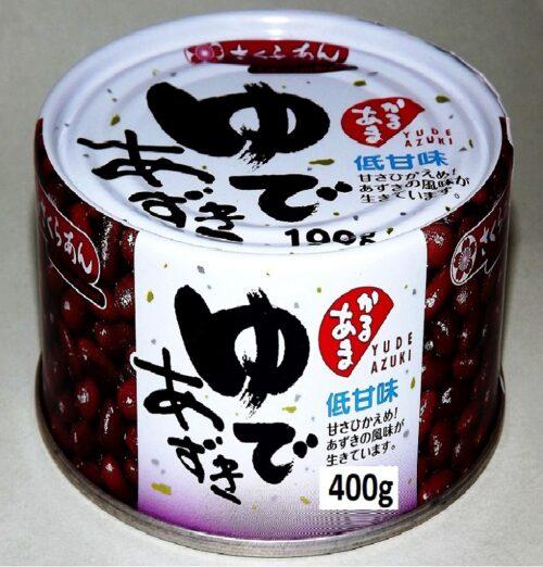 Yude Azuki 400g Tanio Shokuryo 3