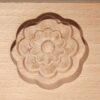 Wagashi Mold -  3 Blüten - Former für japanische Süßigkeiten (Asien) 4