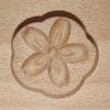 Wagashi Mold - 3 runde Blüten - Former für japanische Süßigkeiten (Asien) 4