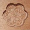 Wagashi Mold - 5 Blüten - Former für japanische Süßigkeiten (Asien) 3