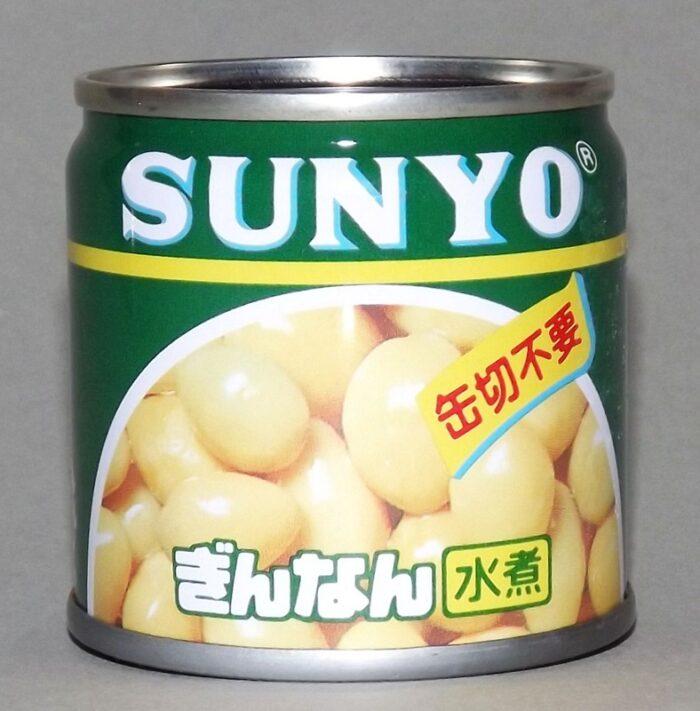 Gin-Nan Mizuni Can 55g - eingelegte Gingkonüsse 1