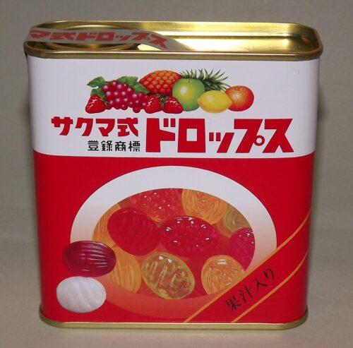 """Sakuma's Drops Blechdose mit den legendären Fruchtbonbons aus dem Film """"Hotaru no haka"""" 8"""