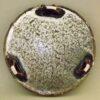 Keramik Teller-Platte auf 3 Füßen 7