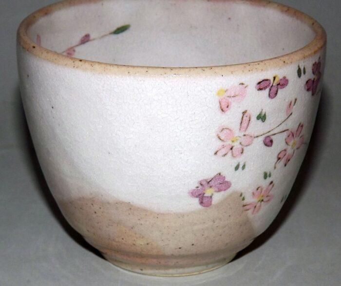 Keramik-Tassen Hana Komachi mit Unteren - 1 Paar in Präsentkarton 1
