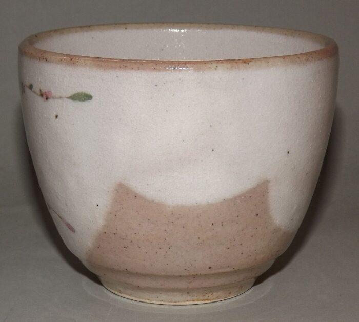 Keramik-Tassen Hana Komachi mit Unteren - 1 Paar in Präsentkarton 2