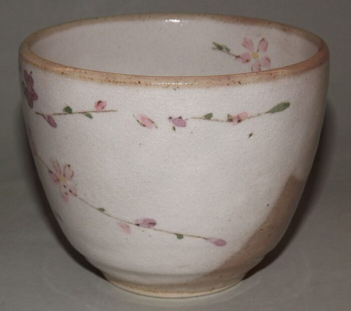 Keramik-Tassen Hana Komachi mit Unteren - 1 Paar in Präsentkarton 3