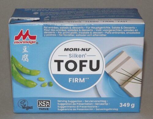 Seiden-Tofu fest Morinaga 349g (U.S.A.) - neue Verpackung 2