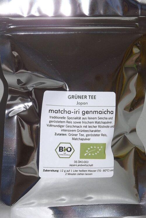 BIO Genmaicha Matcha-Iri 100g                 DE-ÖKO-039 4