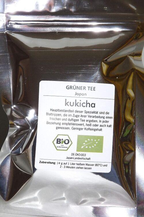 BIO Kukicha 100g              DE-ÖKO-039 2