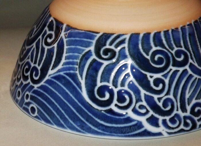 Keramik Bowl Kujira 11.5cm 4