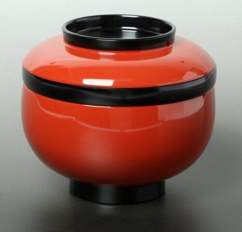 Lack Deckel-Bowl Sanbu aka 3