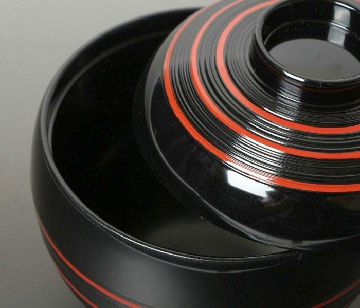 Lack Deckel-Bowl Dangan kuro -klein- 1