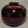 Lack Deckel-Bowl Dangan kuro -klein- 6