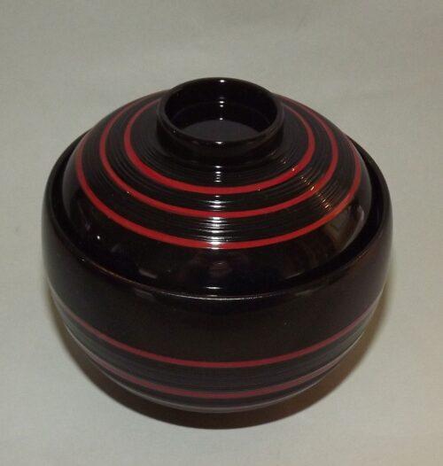 Lack Deckel-Bowl Dangan kuro -klein- 7