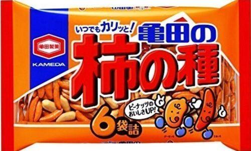 Senbei Mix Kakinotane Kameda 200g = 6 Portionsbeutel 2