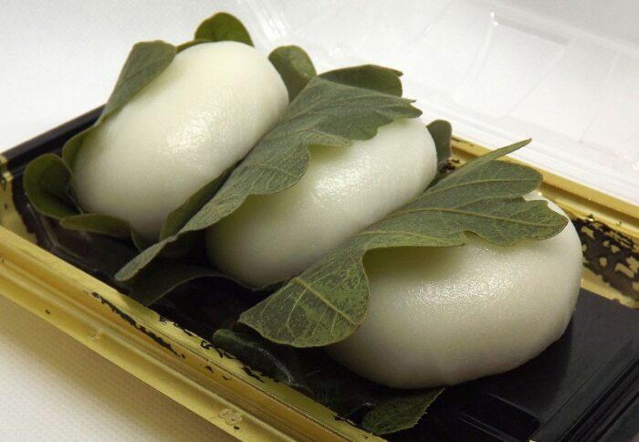 Kashiwa Mochi 3 Stück = 206g Awashimado 2