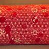 Makura Traditionelles Kopfkissen 40 cm Asanoha-Chidori red 3