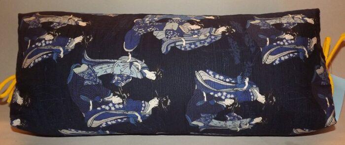 Makura Traditionelles Kopfkissen 40 cm Ladies darkblue 1