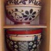 Keramik-Set 5 Bowls Irodori im Holzregal 12