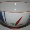 Keramik-Set 5 Bowls Irodori im Holzregal 8