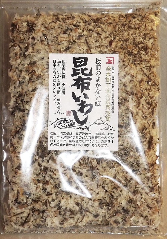 Furikake Kombu + Urume Iwashi 45g 1