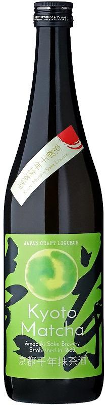 Kyoto Matcha Sake 720ml Amabuki 2