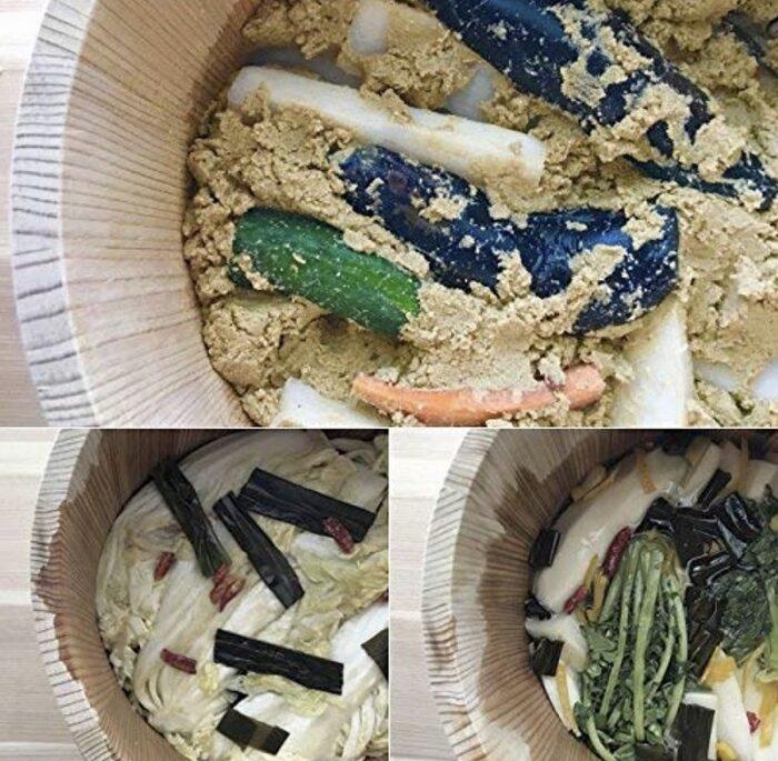 Tsukemono Bareru Sugi - Gemüse-Einlege-Fass - speziell für uns gefertigt ! 6
